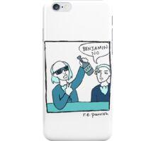 Benjamin No - Single Panel iPhone Case/Skin
