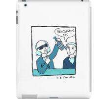 Benjamin No - Single Panel iPad Case/Skin