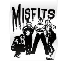 the misfits horror Poster