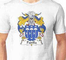 Padilla Coat of Arms/Family Crest Unisex T-Shirt