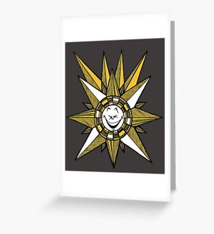 Funny Sun Greeting Card