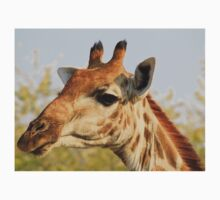 Giraffe - African Wildlife Background - Colorful Solitude Kids Clothes