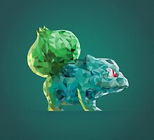Porymon Bulbasaur | Pokemon by abowersock