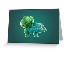 Porymon Bulbasaur | Pokemon Greeting Card