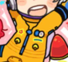 Astronaut Nagisa Sticker
