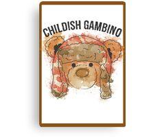 Gambino Colored Canvas Print
