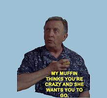 Dr. Kelso Scrubs Muffin Unisex T-Shirt