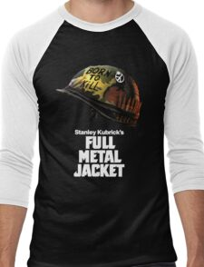 Stanley Kubrick's Full Metal Jacket | Black Men's Baseball ¾ T-Shirt