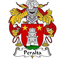 Peralta Coat of Arms/Family Crest Photographic Print