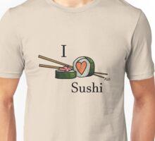 I <3 Sushi Unisex T-Shirt