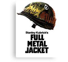 Stanley Kubrick's Full Metal Jacket Canvas Print