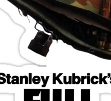 Stanley Kubrick's Full Metal Jacket Sticker