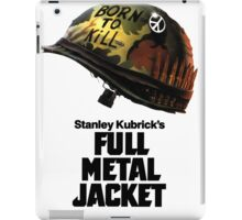 Stanley Kubrick's Full Metal Jacket iPad Case/Skin
