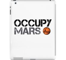 Occupy Mars - Space Planet - SpaceX iPad Case/Skin