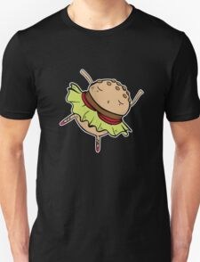 Dancing Burger Unisex T-Shirt