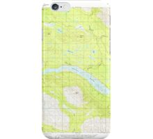 USGS TOPO Map Alaska AK McCarthy B-8 357307 1951 63360 iPhone Case/Skin