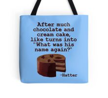 Chocolate and Cream Tote Bag