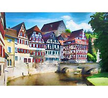A German Canal Photographic Print