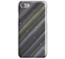 Diagonal Wood Slats iPhone Case/Skin