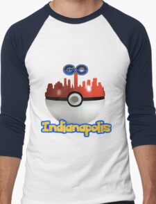 Pokemon Go Indianapolis Men's Baseball ¾ T-Shirt