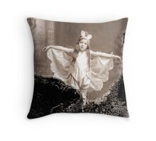 Old Pics Throw Pillow