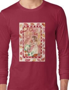 Angel and a Rose Long Sleeve T-Shirt