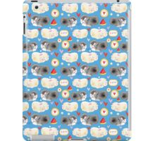 Pattern enamored hamster iPad Case/Skin