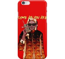 Come As You Are iPhone Case/Skin