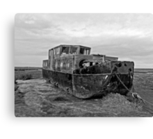 This ole (boat) House Canvas Print