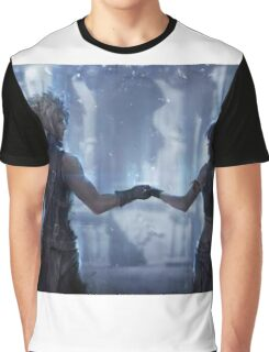 Cloud Strife and Tifa Lockhart Graphic T-Shirt