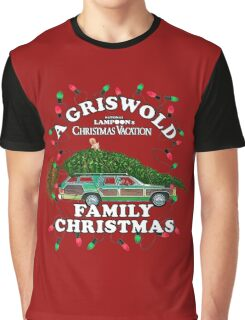 National Lampoon's - Christmas Tree Car Graphic T-Shirt