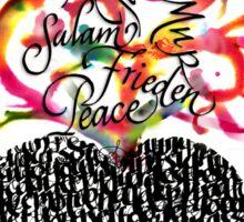 Peace Sticker