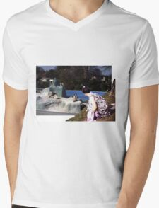 outside looking in Mens V-Neck T-Shirt