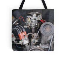 Camper Van engine exposed Tote Bag