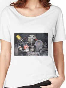 Camper Van engine exposed Women's Relaxed Fit T-Shirt