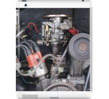 Camper Van engine exposed iPad Case/Skin
