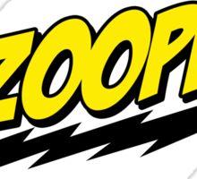 BAZOOPER! - The Big Bang Theory Sticker