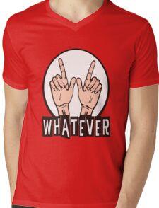 WHATEVER ! Mens V-Neck T-Shirt