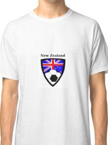 New Zealand Soccer  Classic T-Shirt