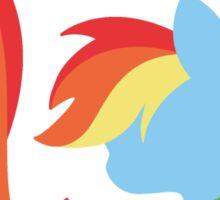 Emblem of Harmony - Rainbow Dash Sticker