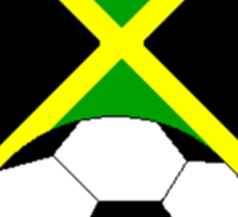 Jamaica Soccer  Sticker