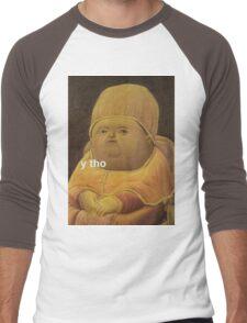 Y Tho Men's Baseball ¾ T-Shirt