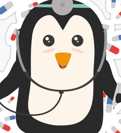 Penguin doctor   Sticker