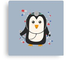 Penguin doctor   Canvas Print