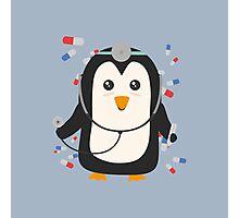 Penguin doctor   Photographic Print