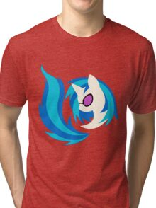Emblem of Harmony - Vinyl Scratch (DJ Pon3) Tri-blend T-Shirt