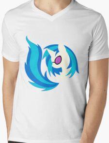 Emblem of Harmony - Vinyl Scratch (DJ Pon3) Mens V-Neck T-Shirt