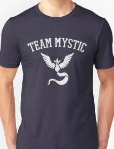 Team Mystic Distressed (Name Only) - Blue Team - Pokemon Go  Unisex T-Shirt