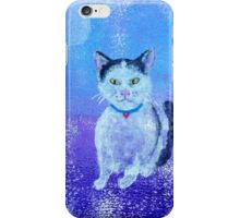 Tuxedo Kitty Galaxy iPhone Case/Skin
