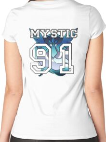 """Personal Mystic """"Jersey"""" Women's Fitted Scoop T-Shirt"""